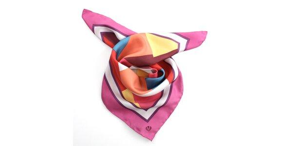 Dámský šátek s barevným vzorem Pietro Filipi