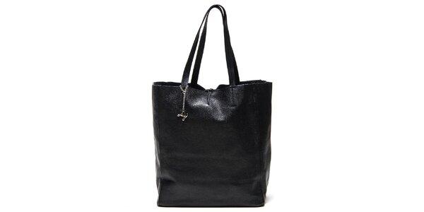 Dámská černá kabelka s vnitřní kapsičkou Luisa Vannini