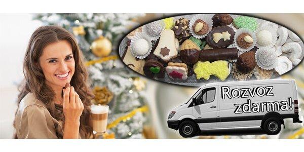 Tradiční vánoční cukroví s rozvozem zdarma