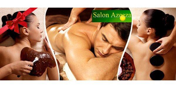 Královské masáže v salonu Azeeza