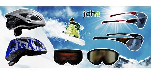 Sportovní brýle a kvalitní helmy Razier