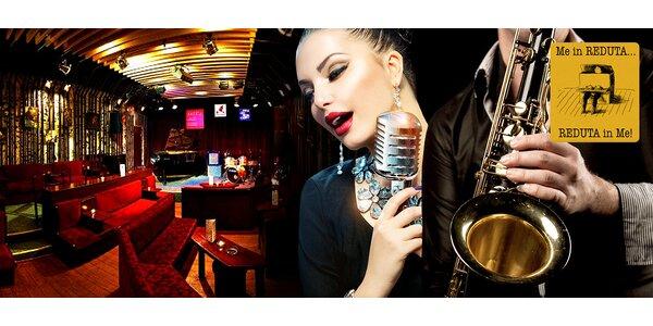 Lístky do Jazz Clubu Reduta na libovolný koncert