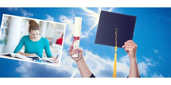 Jak napsat a obhájit bakalářskou/diplomovou práci