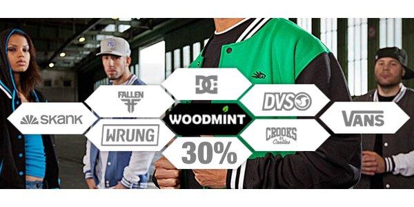 500 Kč na nákup oblečení v obchodě WOODMINT