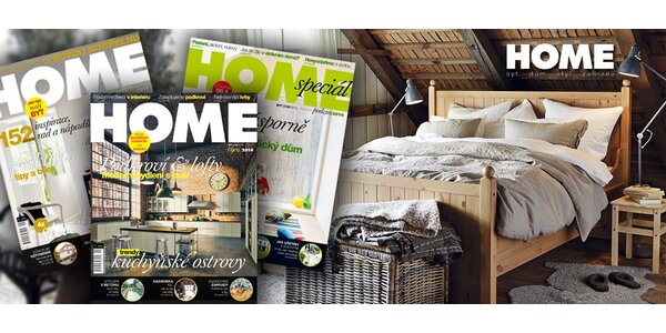 Předplatné časopisu HOME na rok 2015 s dárky