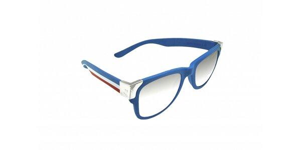 Gumové sluneční brýle Jumper-s v barvách francouzské vlajky