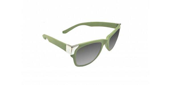 Olivově zelené sluneční brýle Jumper-s