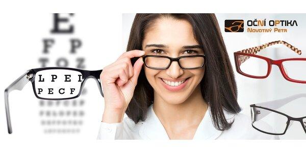 Libovolné brýlové obruby + 30% sleva na skla