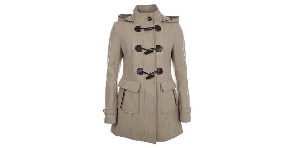 Dámský béžový kabát Halifax