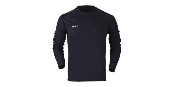 Dámské funkční tričko s dlouhým rukávem v černé barvě Furco