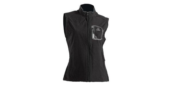 Dámská černá softshellová vesta Furco