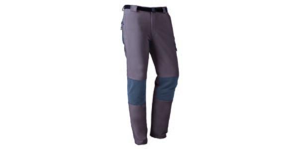 Pánské outdoorové kalhoty s šedými prvky Furco