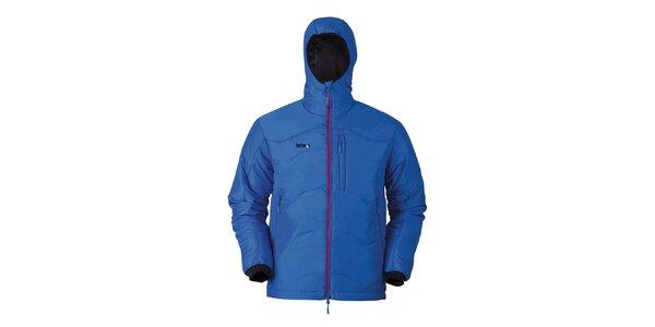 Pánská modrá bunda s kapucí Furco