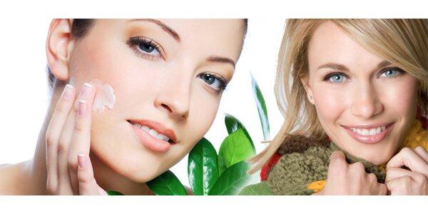 Kosmetické ošetření pleti a dekoltu kosmetikou SynCare