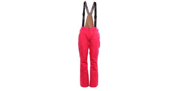 Dámské růžové zimní kalhoty Fundango