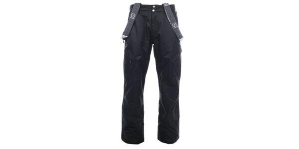 Pánské černé lyžařské kalhoty Fundango