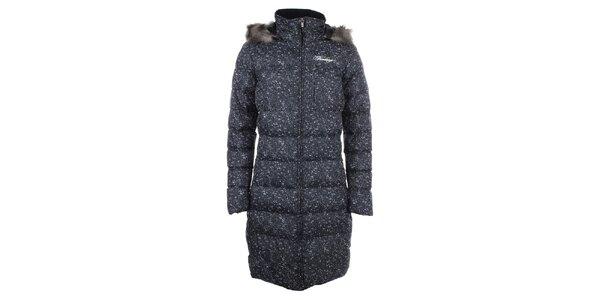 Dámský melírovaný prošívaný kabát Fundango