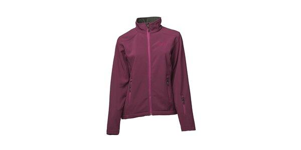Dámská fialová softshellová bunda Fundango