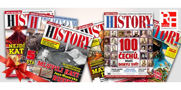 Předplatné časopisu History revue a 21. století