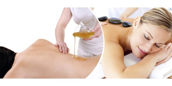 60minutová masáž dle výběru - příjemný dárek