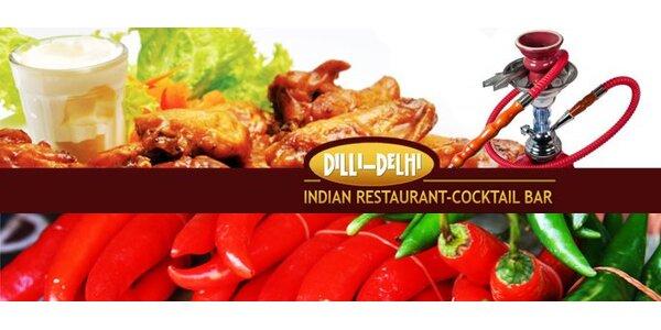 299 Kč za jídlo i pití indické restaurace Dilli Delhi v hodnotě 750 Kč!