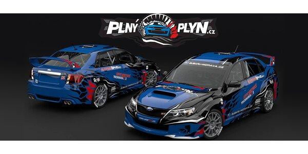 4 kola na závodním okruhu v Subaru WRX STi