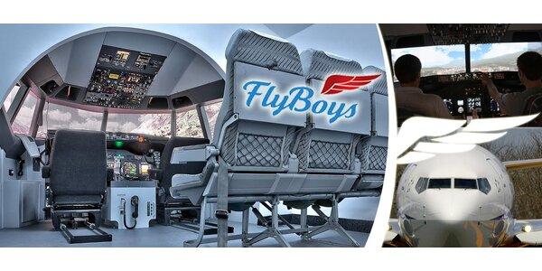 60 minut na simulátoru Boeingu 737