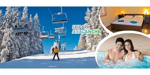 Dovolená plná relaxace a lyžování v Jeseníkách