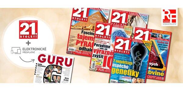 Pololetní předplatné časopisu 21. století + bonus