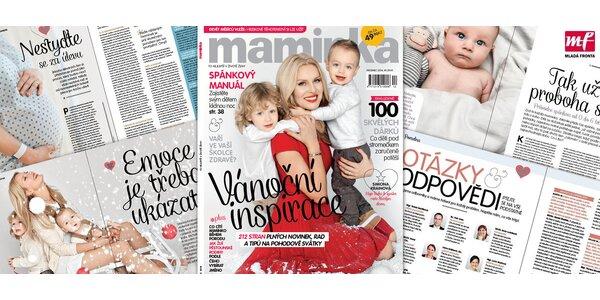 Roční předplatné časopisu Maminka