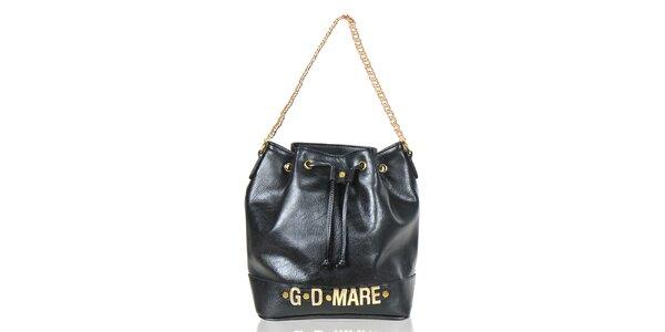 Dámská černá kabelka/batůžek Giorgio di Mare