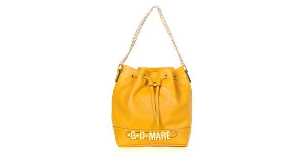 Dámská žlutá kabelka/batůžek Giorgio di Mare