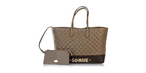 Dámská prošívaná kabelka s odepínací kapsičkou Giorgio di Mare