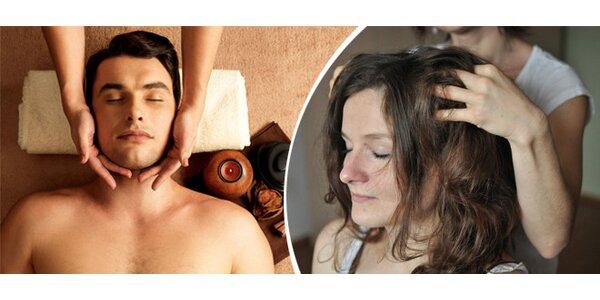 Indická masáž hlavy - zážitek dokonalého uvolnění