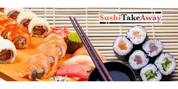 Výběr ze 4 sushi setů s sebou (22-38 ks i polévky)