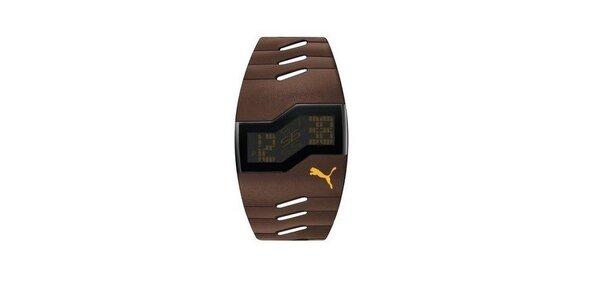 Pánské digitální hodinky Puma Active Brown