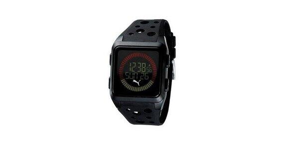 Pánské digitální hodinky Puma Active Agitation Chronograph Black
