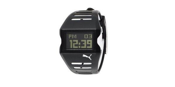 Pánské digitální hodinky Puma Active TOP Flow Black/White