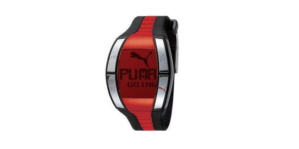 Pánské digitální hodinky Puma Active Fluctuation Black/Red