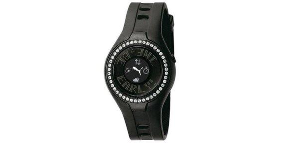 Dámské digitální hodinky Blockbuster Circuit Black Stones