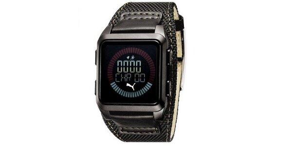 Pánské digitální hodinky Puma Storm of Agitation black