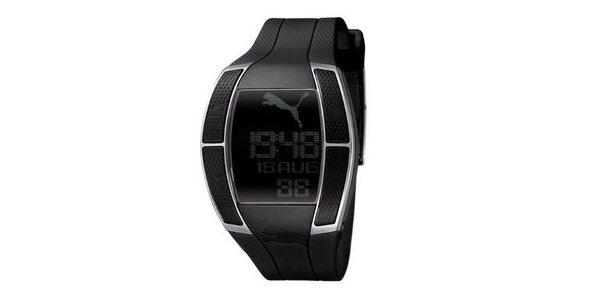 Pánské digitální hodinky Puma Top Fluctuation Gents Black