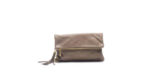 Dámská kožená kabelka do ruky Carla Ferreri