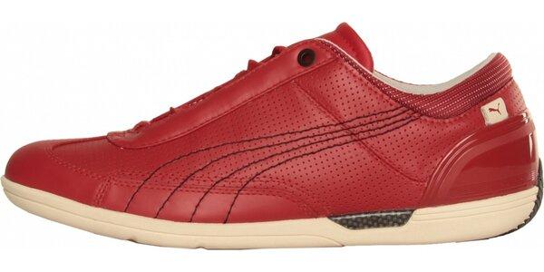 Pánské červené tenisky Puma
