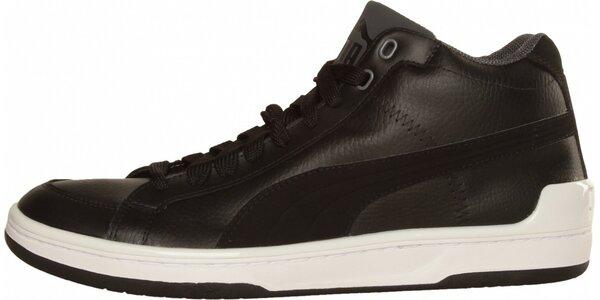 Pánské černé kotníkové tenisky Puma