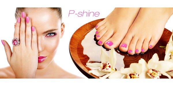 P-Shine manikúra nebo pedikúra