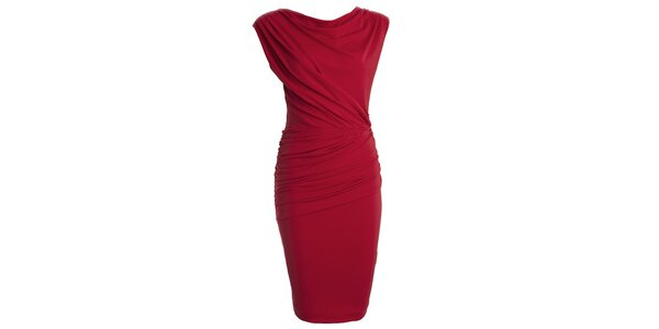 Dámské červené šaty s vodou CeMe London