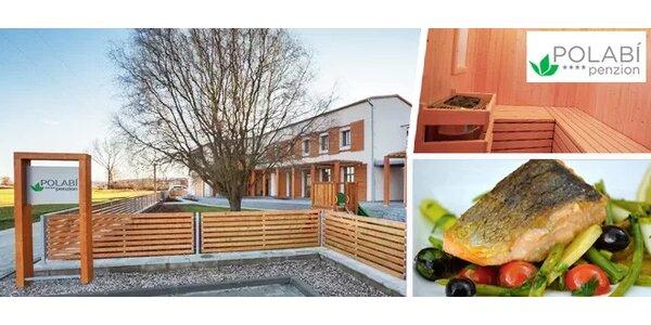 Pobyt v krásném čtyřhvězdičkovém penzionu Polabí včetně neomezené sauny…