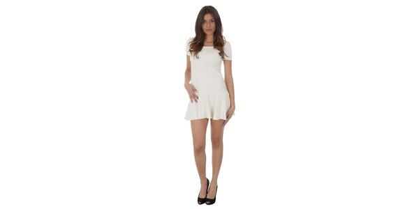 Dámské bílé šaty Maria Villoresi