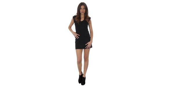 Dámské černé šaty Maria Villoresi